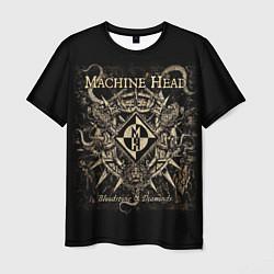 Футболка мужская Machine Head цвета 3D-принт — фото 1