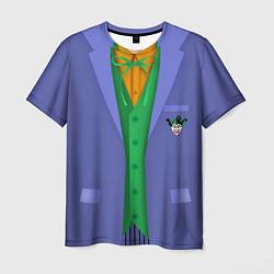 Футболка мужская Joker цвета 3D-принт — фото 1