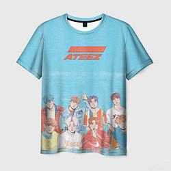 Мужская 3D-футболка с принтом Ateez K-pop, цвет: 3D, артикул: 10194998103301 — фото 1