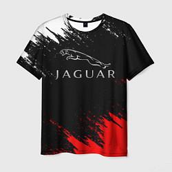 Футболка мужская Jaguar цвета 3D — фото 1