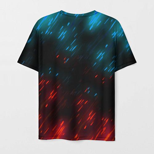 Мужская футболка CYBERPUNK 2077 SAMURAI / 3D-принт – фото 2