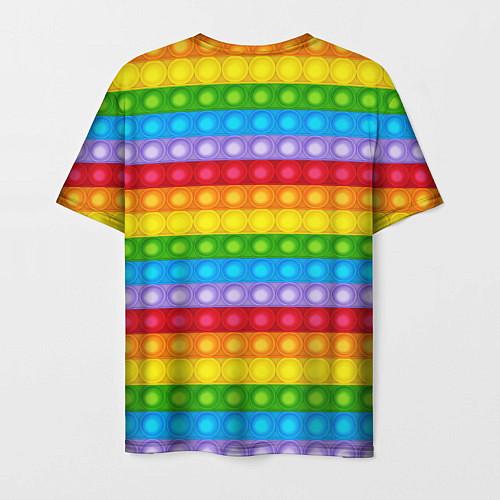 Мужская футболка Pop It / 3D-принт – фото 2