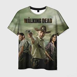 Мужская 3D-футболка с принтом The Walking Sheriff, цвет: 3D, артикул: 10073072003301 — фото 1