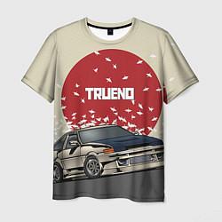Футболка мужская Toyota Trueno ae86 цвета 3D — фото 1