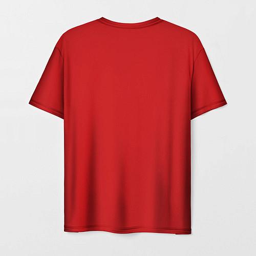 Мужская футболка Ёлка миньона / 3D – фото 2