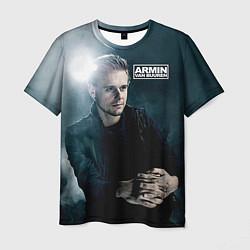 Мужская 3D-футболка с принтом Armin Van Buuren, цвет: 3D, артикул: 10077772703301 — фото 1
