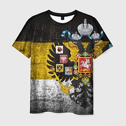Футболка мужская Имперский флаг цвета 3D — фото 1