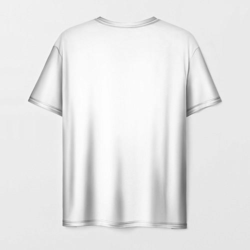 Мужская футболка Panda Love / 3D – фото 2