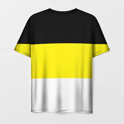 Мужская футболка Имперский Флаг / 3D – фото 2