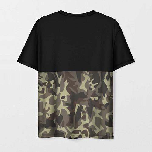 Мужская футболка FCK U: Camo / 3D – фото 2