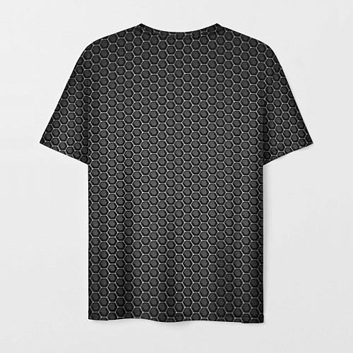 Мужская футболка No pain, no gain / 3D – фото 2
