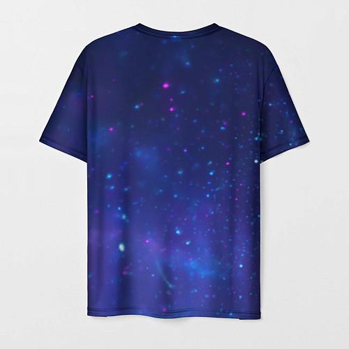 Мужская футболка Лев SWAG / 3D – фото 2