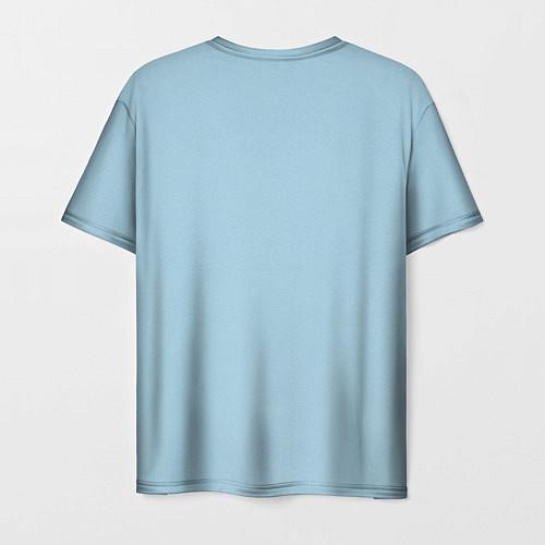 Мужская футболка Страстная девушка, красивая / 3D – фото 2