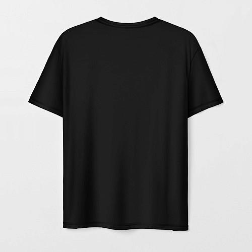 Мужская футболка Девушка в шляпе / 3D – фото 2