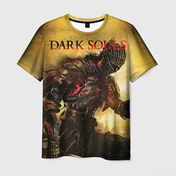 Футболка мужская Dark Souls: Braveheart цвета 3D — фото 1