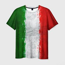 Футболка мужская Italian цвета 3D — фото 1