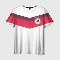 Футболка мужская Сборная Германии по футболу цвета 3D — фото 1
