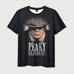 Футболка мужская Peaky Blinders цвета 3D-принт — фото 1