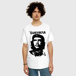 Футболка оверсайз мужская Che Guevara цвета белый — фото 2