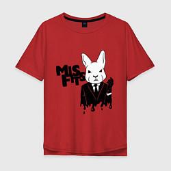 Мужская футболка оверсайз Misfits Rabbit