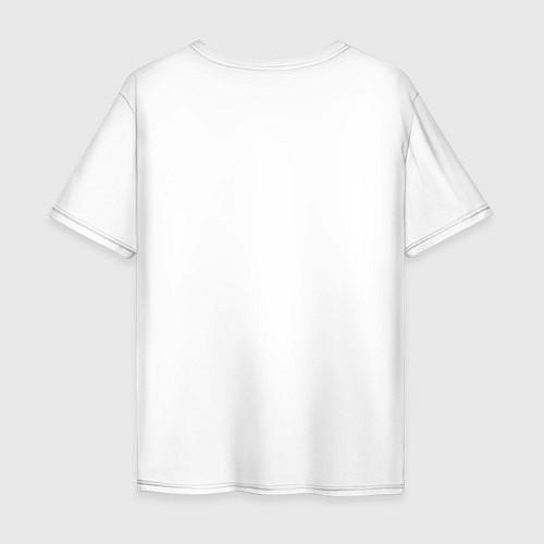 Мужская футболка оверсайз The Beatles faces / Белый – фото 2