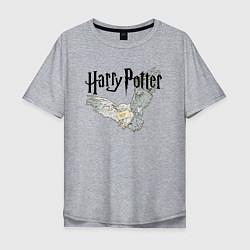 Мужская футболка оверсайз Гарри Поттер: Букля
