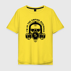 Футболка оверсайз мужская Breaking Bad цвета желтый — фото 1