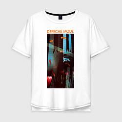 Футболка длинная мужская Depeche Mode: Poster - фото 1