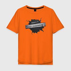Мужская футболка оверсайз Главный по железу
