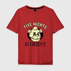 Футболка длинная мужская Five Nights At Freddy's - фото 1