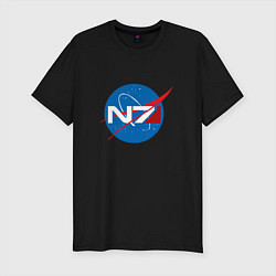 Футболка slim-fit NASA N7 - фото 1