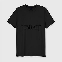 Футболка slim-fit The Hobbit цвета черный — фото 1