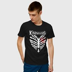 Футболка хлопковая мужская Кукрыниксы цвета черный — фото 2