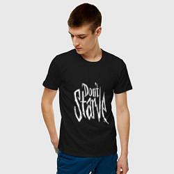 Футболка хлопковая мужская Don't Starve цвета черный — фото 2