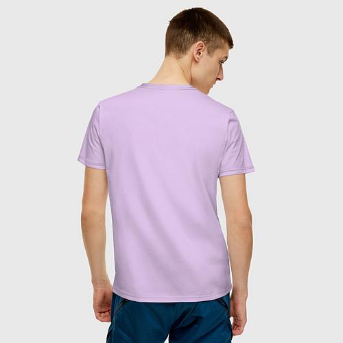 Мужская футболка Самый классный муж / Лаванда – фото 4