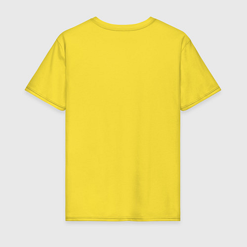 Мужская футболка Отучился у Макара / Желтый – фото 2