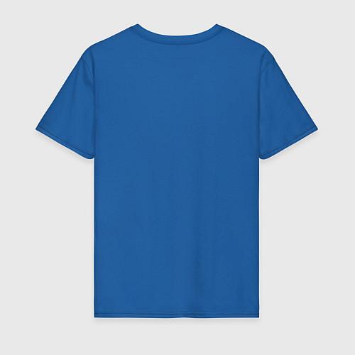 Мужская футболка Соник / Синий – фото 2