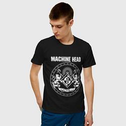 Футболка хлопковая мужская Machine Head MCMXCII цвета черный — фото 2