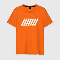 Футболка хлопковая мужская IKON цвета оранжевый — фото 1