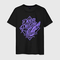 Футболка хлопковая мужская Deep Purple: Highway Star цвета черный — фото 1
