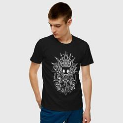 Футболка хлопковая мужская Hollow Knight цвета черный — фото 2