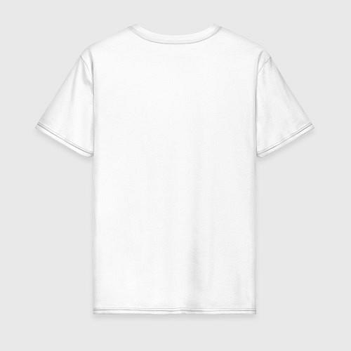 Мужская футболка ЭТО СТАРАЯ ФУТБОЛКА / Белый – фото 2