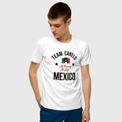 Футболка хлопковая мужская Team Canelo цвета белый — фото 2