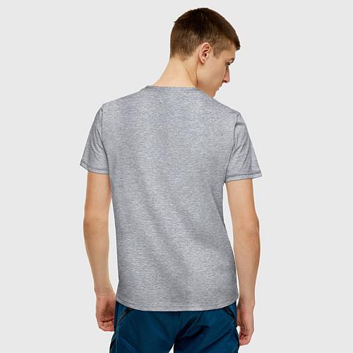 Мужская футболка Черепашки-ниндзя / Меланж – фото 4