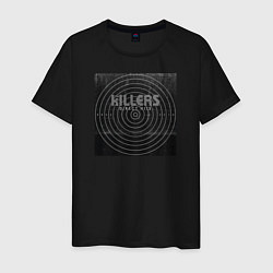 Футболка хлопковая мужская The Killers цвета черный — фото 1