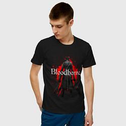 Футболка хлопковая мужская Bloodborne цвета черный — фото 2