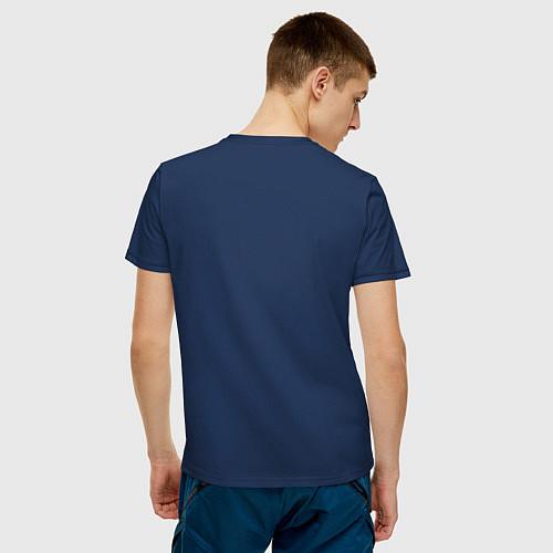Мужская футболка Морской дракон / Тёмно-синий – фото 4