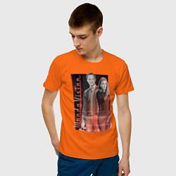 Футболка хлопковая мужская WandaVision цвета оранжевый — фото 2