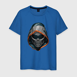 Футболка хлопковая мужская Taskmaster цвета синий — фото 1