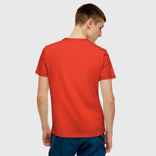 Мужская футболка Mathematica (Математика) / Рябиновый – фото 4